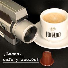 Dedicado a los amantes de las #PelículasAntiguas pero eso si, acompañadas de un buen #café expresso elaborado con...