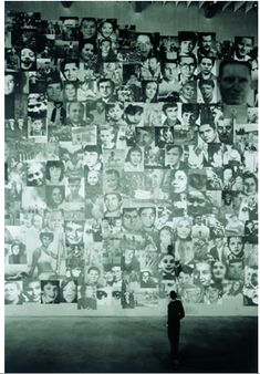 Christian Boltanski, Disappearance, 1998-1999, view of exhibition at Arken Museum, Photo Bent Ryberg, Planet Foto. All rights reserved