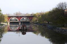 Madrid. Puente de los Franceses.