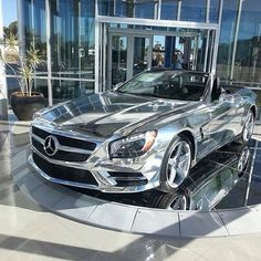 Holy cow! That Mercedes is amazing