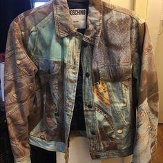 MOSCHINO RARE 90's VINTAGE MOSCHINO JACKET 100% AUTHENTIC; Fits like a small/medium perfect spring jacket Moschino Jackets & Coats