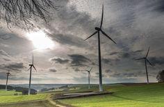 Nice Wind Turbines photography #windturbines #windpower #wind #renewables