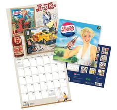 Pepsi 2013 Nostalgia Calendar