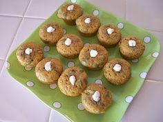 Shelly's Pumpkin Protein Mini Muffins