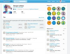 Foursquare User Dashboard Secret Places, User Profile, Four Square, Good Things, Messages, Activities, Inspiration, Biblical Inspiration, Inhalation