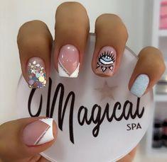 Mani Pedi, Manicure And Pedicure, Precious Nails, Magic Nails, Fall Nail Art Designs, Classic Nails, Neutral Nails, Super Nails, Short Nails