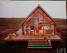 Jen #Risom's Block Island retreat, which his children and grandchildren still use today.