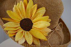 Sewing through Sunflowers: 6 DIY Sunflowers