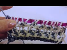 Tunisian Crochet: Spider Lace Baby Afghan
