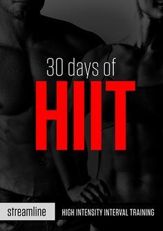 30 Days of HIIT. This is an awesome site. As each exercise listed and how to do it as a circuit. Is it lots of body weight. It also has a timer on the site to get you through. Very cool