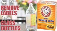 How to Remove Labels from Glass Bottles or Jars