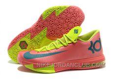 http://www.nikejordanclub.com/nike-kevin-durant-kd-6-vi-pink-neon-greenteal-for-sale-online-bp7c8.html NIKE KEVIN DURANT KD 6 VI PINK/NEON GREEN-TEAL FOR SALE ONLINE BP7C8 Only $93.00 , Free Shipping!