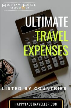 Curious how much I spent in average in a country? Here you will find a short and rough overview of the ultimate travel expenses per country or place. Ultimate Travel, Country, Face, Happy, Rural Area, Ser Feliz, Country Music, Rustic, Faces