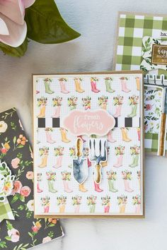 Simon Says Stamp   March 2018 Card Kit - 7 Cards + Video