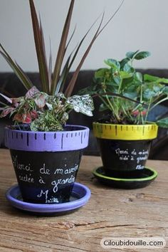 Gift for teachers Ciloubidouille Diy Gifts For Mothers, Diy Gifts For Friends, Gifts For Kids, Gifts Love, Cool Gifts, Clay Pot Crafts, Diy Crafts, Diy Flowers, Flower Pots