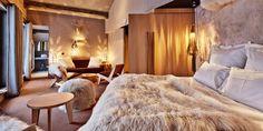 . Chalet Chic, Chalet Style, Ski Chalet, Interior Architecture, Interior Design, Interior Ideas, Home Building Design, Log Cabin Homes, Modern Room