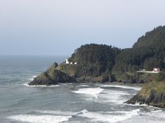 The Oregon Coast :)  Lighthouses included!