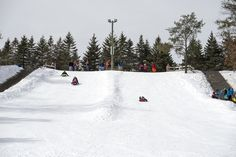 Want a fun family outing this winter in the Stevens Point area? Try Iverson Park's sledding hill! More info: http://www.stevenspoint.com/index.aspx?nid=163 (Photo: KT Elements)