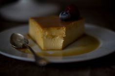 Cheesecake flan