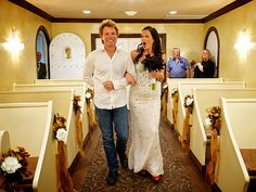 Jon Bon Jovi Walks Super-Fan Down the Aisle. Just when I thought I couldn't possibly love him more.