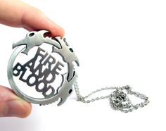 Fire And Blood Necklace - Game of Thrones