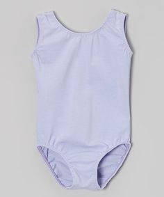 Poppy & Plum Lavender Tank Leotard - Toddler & Girls | zulily