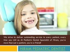 Hiram Pediatric Dentist  Visit this site http://pediatricdentalspecialistofhiram.com/ for more information on Hiram Pediatric Dentist. For many parents, the mere idea of taking their child to the children dentist fills them with dread. There is no doubt that the first look at the inside of dentist's office can be very frightening for little ones. But as with so many aspects of our lives, good dental hygiene begins when we are young, and many children dentists say the sooner the better…