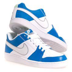Nike Nike Backboard Ii Men's Athletic Shoes: White/Blue 13