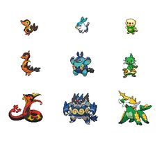 pokemon fusion starters - Google Search