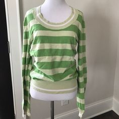 Cute, cozy & comfy striped sweater! 🍂🍃 💥Price firm unless bundled.💥 GUC 🌟 Merona 🌟 Size Small 🌟 92% Cotton, 6% Nylon, and 2% Lycra Spandex🌟 Machine Wash 💝 I follow all Posh rules, am open to offers through the offer button, and my closet bundles any 2+ items at 20% off! ✨ Merona Tops Tees - Long Sleeve