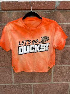 Ducks Hockey, Duck Shirt, Hockey Shirts, Anaheim Ducks, Bleach, Sweatshirts, Trainers, Sweatshirt, Sweater