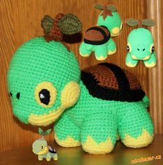 Pokémon TURTWIG I want. GRANDMA!!!