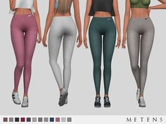 Comes in 12 colours. Found in TSR Category 'Sims 4 Female Everyday'