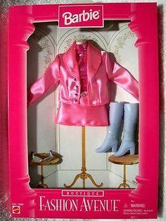 Fashion Avenue Barbie 1996 16978 Boutique Pink Suit NRFB   eBay