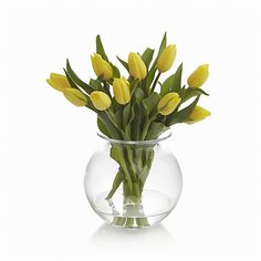 Flared rim throws classic, round vase a handcrafted design curve to enhance cut flowers.