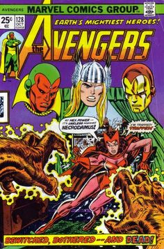 Diversions of the Groovy Kind: Avengers 2 Week! The Grooviest Covers of All Time: Your Young Men Shall See Visions (...and Scarlet Witches and Quicksilvers)