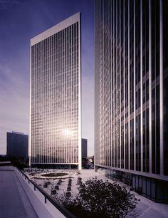 Century City Theme Towers | Los Angeles, California | Minoru Yamasaki