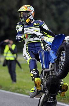 VR46 Supermoto 2012 Valentino Rossi