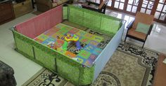 Rabbit The Penguin: Playpen for the little man :)