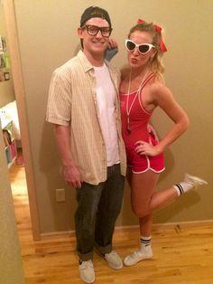 squints and wendy peffercorn couples costume misalliances dalmatian fireman halloween costume