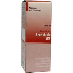 REMEDIUM Bronchiale EKF flüssig:   Packungsinhalt: 50 ml Flüssigkeit PZN: 05954230 Hersteller: MARIEN-APOTHEKE Preis: 7,58 EUR inkl. 19 %…