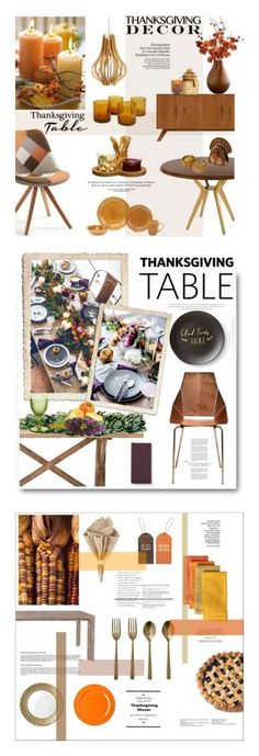 """""""Winners for Thanksgiving Table"""" by polyvore ❤ liked on Polyvore featuring interior, interiors, interior design, home, home decor, interior decorating, Universal Lighting and Decor, Copeland Furniture, H&M and Laura Mercier"""