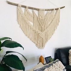 Everything handmade from my home to yours :) by NyxonCreations Large Macrame Wall Hanging, Yarn Wall Hanging, Wall Hangings, Beautiful Wall, Wall Art Designs, Sell On Etsy, Driftwood, Boho Decor, Wall Decor