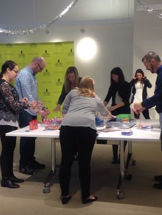 St. Jude Holiday Helper Event at our #NYC Office! #StJude #Holiday