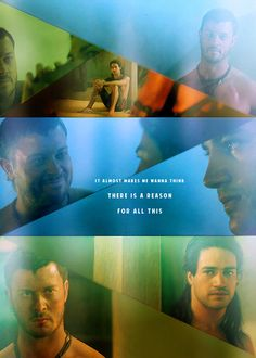 If either of these men die...I will flood my house in tears. #Spartacus #Agron #Nasir