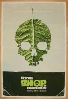 """2012 """"Little Shop Of Horrors"""" - Movie Poster by Michael De Pippo"""
