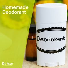 Homemade Deodorant - Dr.Axe
