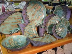... : Fused glass & pottery on Pinterest   Pottery, Clay and Glass Tiles