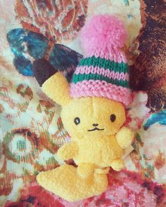 My @innocentsmoothies came with a little knitted hat on it so I decided to dress my little pikachu in it  #pikachuplush #pikachu #pika #pokemonphotography #pokemonplush #pokemoncenter #pokemonmaster #pokemoncommunity #pokemonchampion #pokelove #Japan #kawaii #nintendo #igersnintendo #gamergirl #gameboy #toyphotography #toyuniverse #toyslagram #pokeplush #anime #animelove #retrogaming #justnerdthings #cutepokemon #geek #pkmncollectors by attack.on.mew