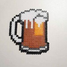 Beer hama beads by cukstuff